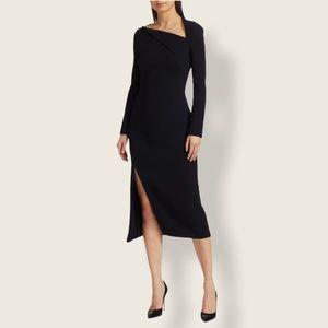 Oscar de la Renta Assymetric Sheath Dress